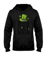 Irish Girl T shirt St Patricks Day Irish W Hooded Sweatshirt thumbnail