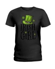 Irish Girl T shirt St Patricks Day Irish W Ladies T-Shirt thumbnail