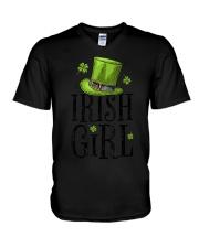 Irish Girl T shirt St Patricks Day Irish W V-Neck T-Shirt thumbnail