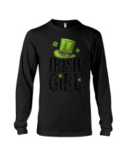 Irish Girl T shirt St Patricks Day Irish W Long Sleeve Tee thumbnail