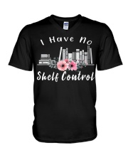 I Have No Shelf Control t-shirt Books f V-Neck T-Shirt thumbnail