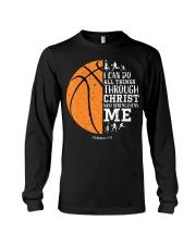 Christian Basketball Shirt I Can Do All Things Phi Long Sleeve Tee thumbnail