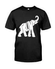 Trump Elephant President Donald Trump T Shirt Classic T-Shirt front
