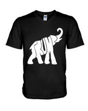 Trump Elephant President Donald Trump T Shirt V-Neck T-Shirt thumbnail