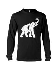 Trump Elephant President Donald Trump T Shirt Long Sleeve Tee thumbnail
