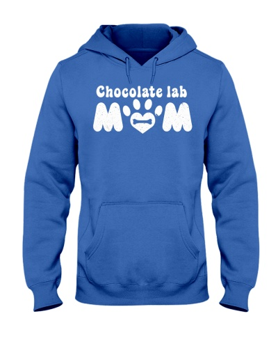 Chocolate Lab Mom Dog Mom Funny Labrador Mom