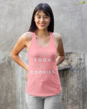 will yoga for cookies Ladies Flowy Tank apparel-ladies-flowy-tank-lifestyle-front-23