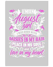 August Girl With Daisies 24x36 Poster front