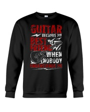 Guitar Become My Best Friend Crewneck Sweatshirt thumbnail