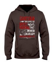 Guitar Become My Best Friend Hooded Sweatshirt thumbnail