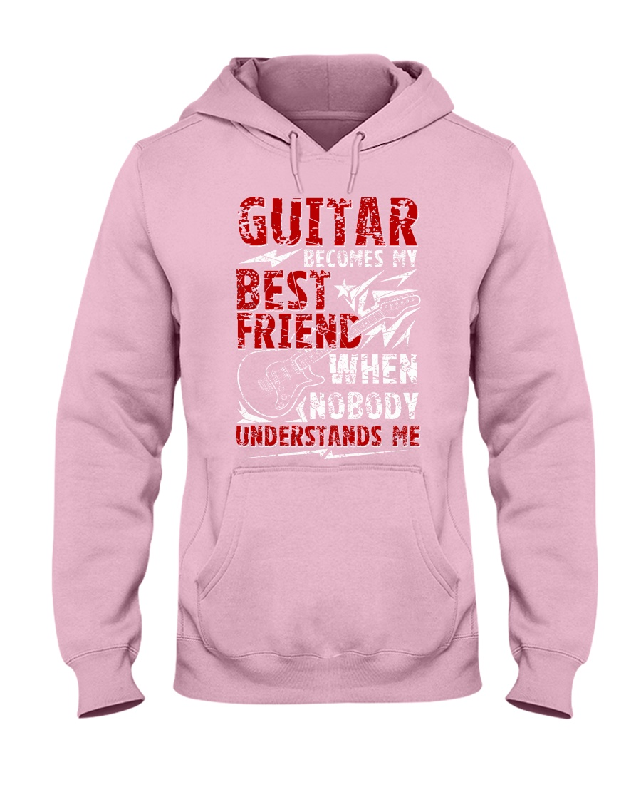 Guitar Become My Best Friend Hooded Sweatshirt