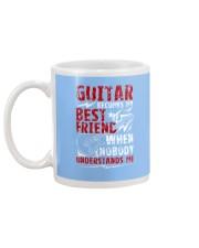 Guitar Become My Best Friend Mug back