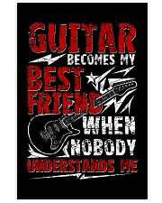 Guitar Become My Best Friend 11x17 Poster thumbnail