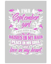 September Girl With Daisies 11x17 Poster front
