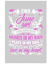 June Girl With Daisies 24x36 Poster front