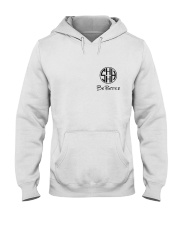 Scott and Holly Monogram Hooded Sweatshirt front