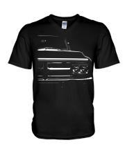 gmc gmc truck 1972 V-Neck T-Shirt thumbnail