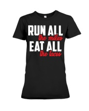 run all eat all Premium Fit Ladies Tee thumbnail