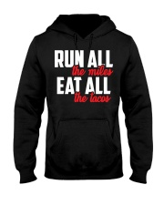 run all eat all Hooded Sweatshirt thumbnail