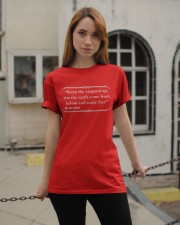 Keep Your Airspeed Up Classic T-Shirt apparel-classic-tshirt-lifestyle-19