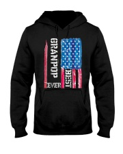 Best Grandpop Ever Distressed American Flag Tshirt Hooded Sweatshirt thumbnail