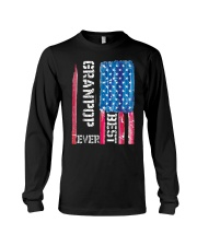 Best Grandpop Ever Distressed American Flag Tshirt Long Sleeve Tee thumbnail