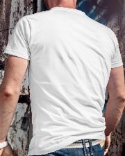 Stop I am Engaged Classic T-Shirt lifestyle-mens-crewneck-back-2