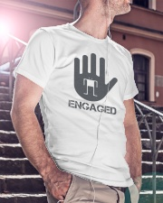 Stop I am Engaged Classic T-Shirt lifestyle-mens-crewneck-front-5