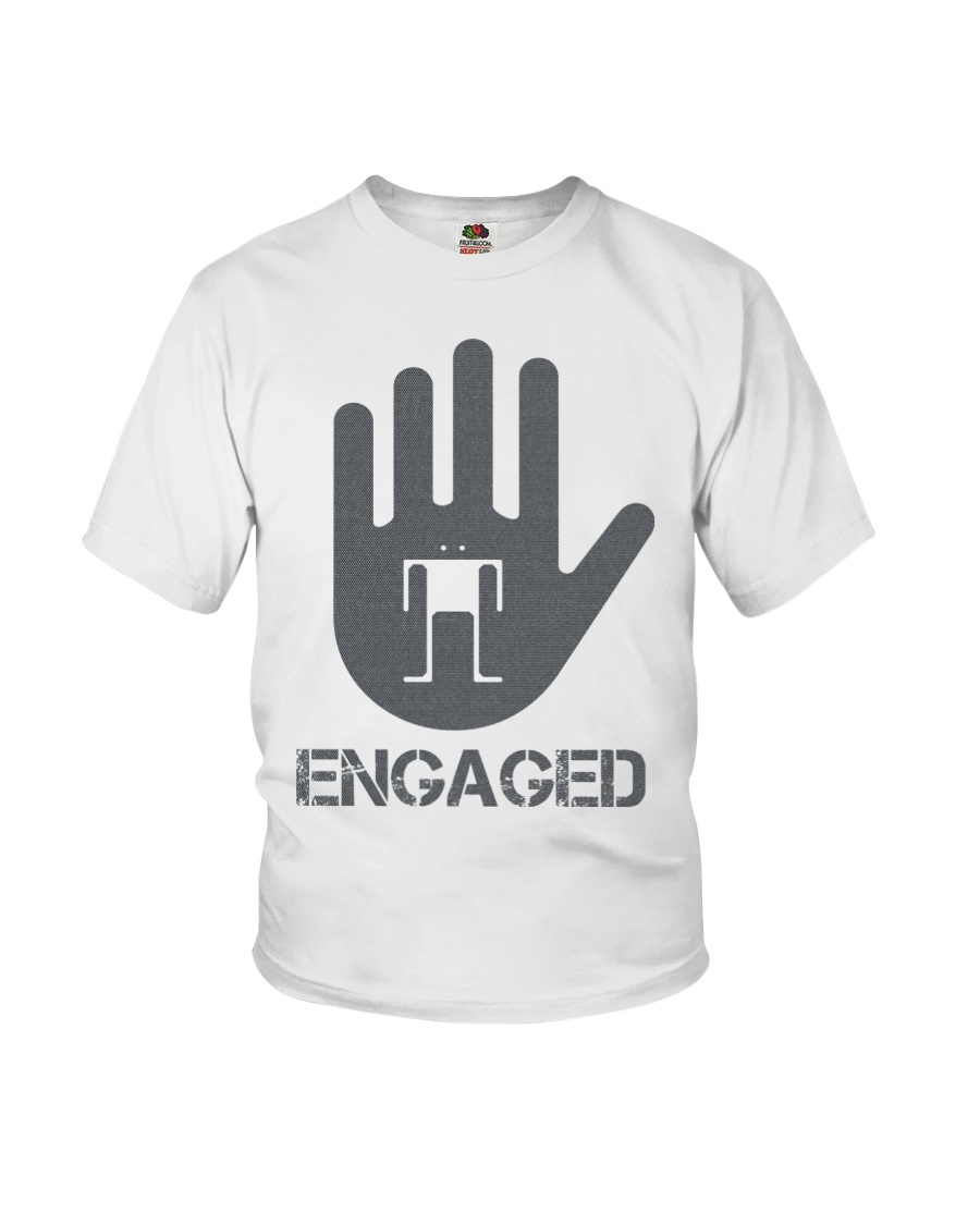 Stop I am Engaged Youth T-Shirt