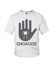 Stop I am Engaged Youth T-Shirt thumbnail