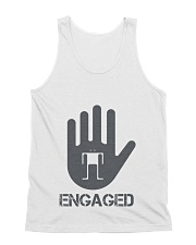Stop I am Engaged All-over Unisex Tank thumbnail