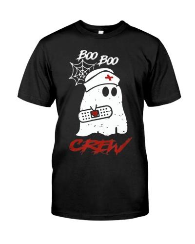 Boo Boo Crew Nurse Ghost Halloween Costume Gift