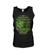 TO MY GORGEOUS IRISH WIFE I LOVE YOU Unisex Tank thumbnail