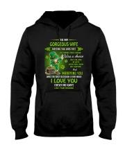 TO MY GORGEOUS IRISH WIFE I LOVE YOU Hooded Sweatshirt thumbnail