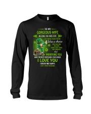 TO MY GORGEOUS IRISH WIFE I LOVE YOU Long Sleeve Tee thumbnail