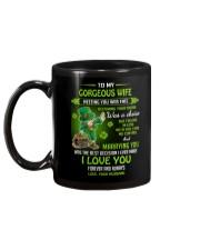 TO MY GORGEOUS IRISH WIFE I LOVE YOU Mug back