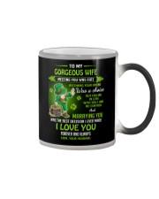TO MY GORGEOUS IRISH WIFE I LOVE YOU Color Changing Mug thumbnail