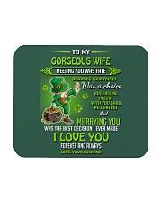 TO MY GORGEOUS IRISH WIFE I LOVE YOU Mousepad thumbnail