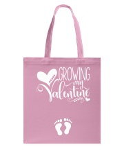 Growing My Valentine Mom Tote Bag thumbnail