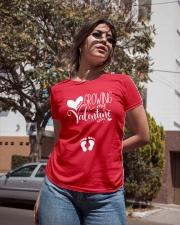 Growing My Valentine Mom Ladies T-Shirt apparel-ladies-t-shirt-lifestyle-02