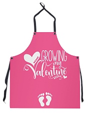 Growing My Valentine Mom Apron thumbnail