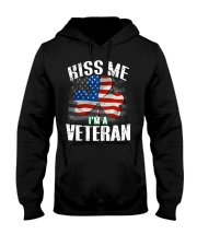KISS ME I AM A IRISH VETERAN  Hooded Sweatshirt thumbnail