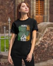 IRISH LOYALTY STRENGTH FAITH Classic T-Shirt apparel-classic-tshirt-lifestyle-06