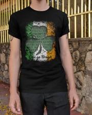 IRISH LOYALTY STRENGTH FAITH Classic T-Shirt apparel-classic-tshirt-lifestyle-21
