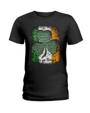 IRISH LOYALTY STRENGTH FAITH Ladies T-Shirt thumbnail