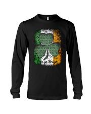 IRISH LOYALTY STRENGTH FAITH Long Sleeve Tee thumbnail