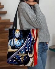 Nurse usa flag 2020 All-over Tote aos-all-over-tote-lifestyle-front-09
