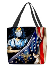 Nurse usa flag 2020 All-over Tote front