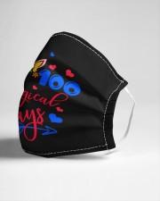 100 magical days Cloth face mask aos-face-mask-lifestyle-21