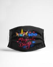 100 magical days Cloth face mask aos-face-mask-lifestyle-22